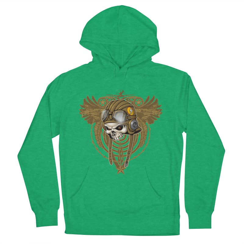 Aviator Women's French Terry Pullover Hoody by Ideacrylic Shop