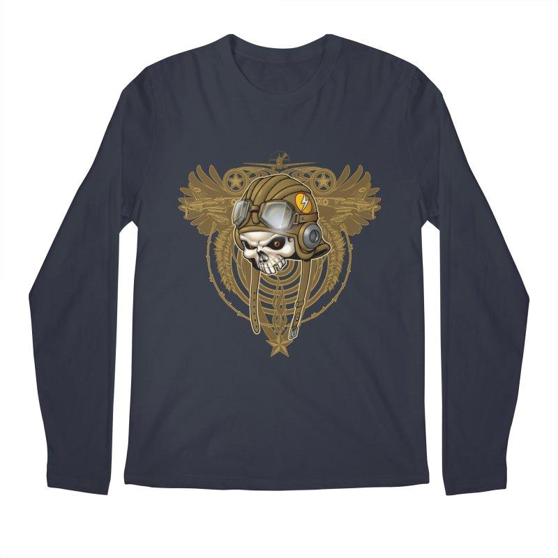 Aviator Men's Regular Longsleeve T-Shirt by Ideacrylic Shop