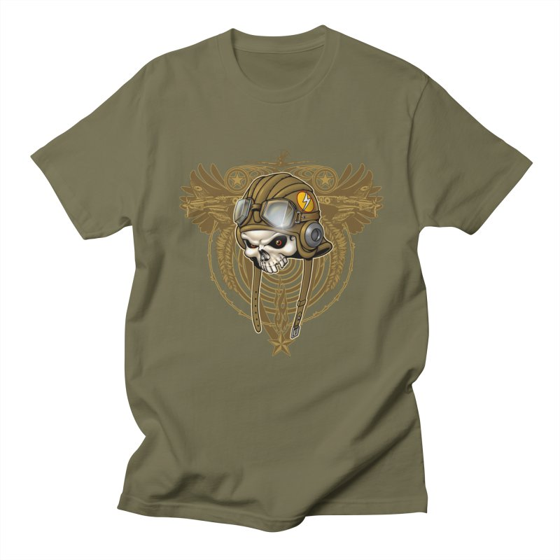 Aviator Men's T-Shirt by Ideacrylic Shop