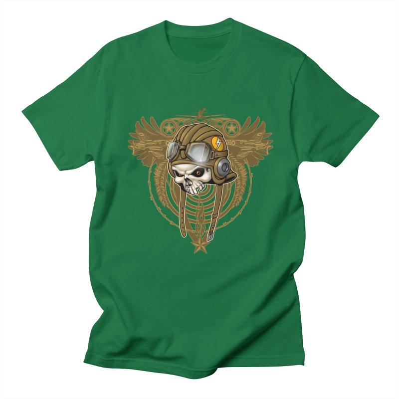 Aviator Men's Regular T-Shirt by Ideacrylic Shop