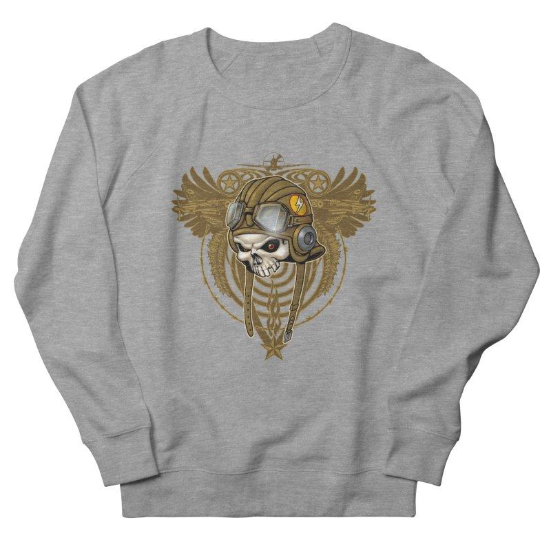 Aviator Men's French Terry Sweatshirt by Ideacrylic Shop