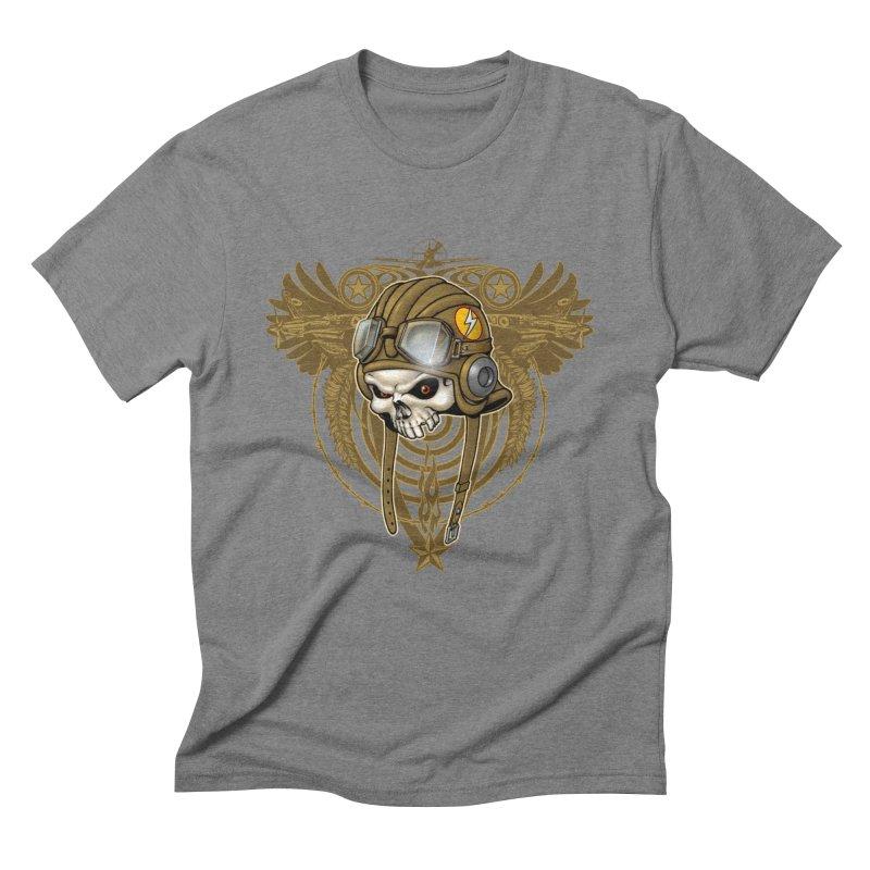 Aviator Men's Triblend T-Shirt by Ideacrylic Shop