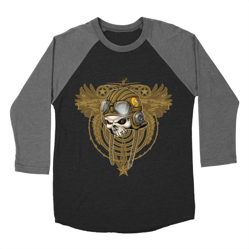 Aviator Men's Baseball Triblend Longsleeve T-Shirt by Ideacrylic Shop