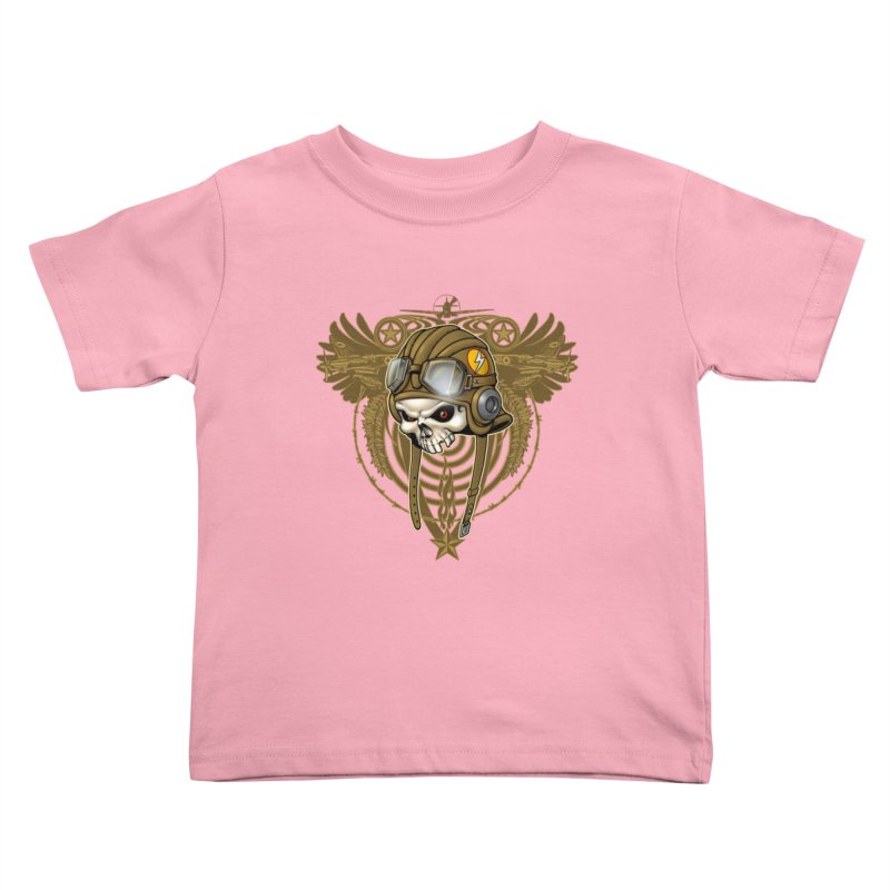 Aviator Kids Toddler T-Shirt by Ideacrylic Shop