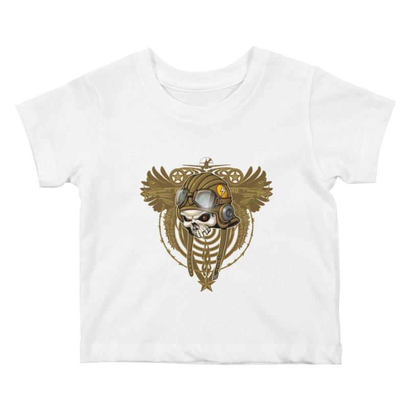 Aviator Kids Baby T-Shirt by Ideacrylic Shop