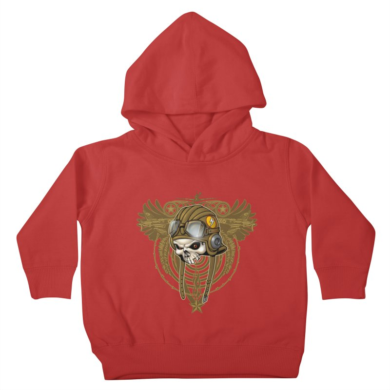 Aviator Kids Toddler Pullover Hoody by Ideacrylic Shop