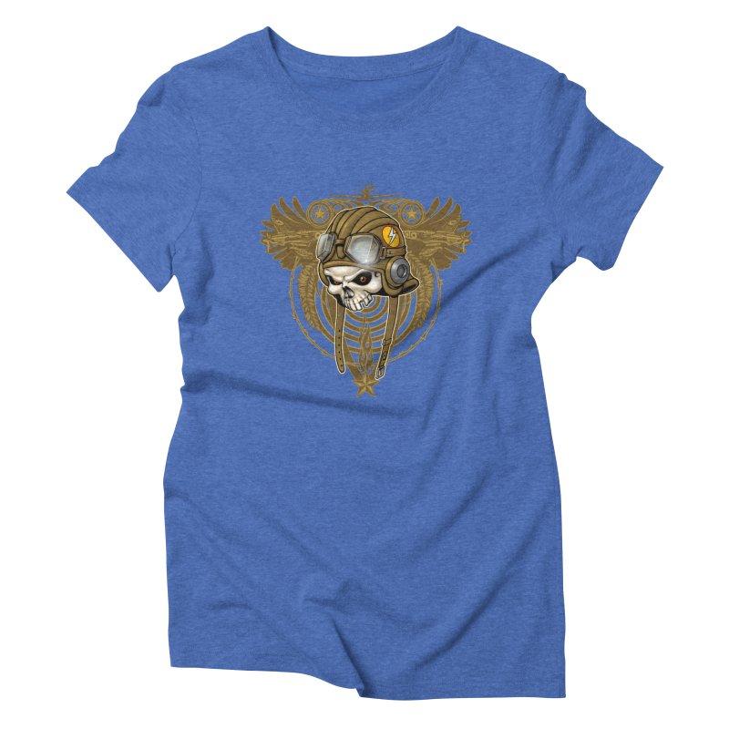 Aviator Women's Triblend T-Shirt by Ideacrylic Shop