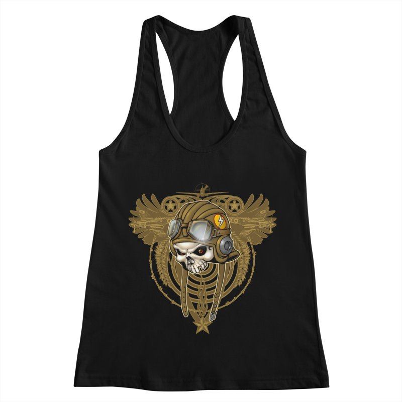 Aviator Women's Racerback Tank by Ideacrylic Shop