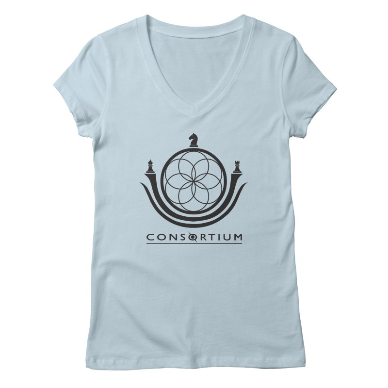 Consortium Women's V-Neck by iDGi-1