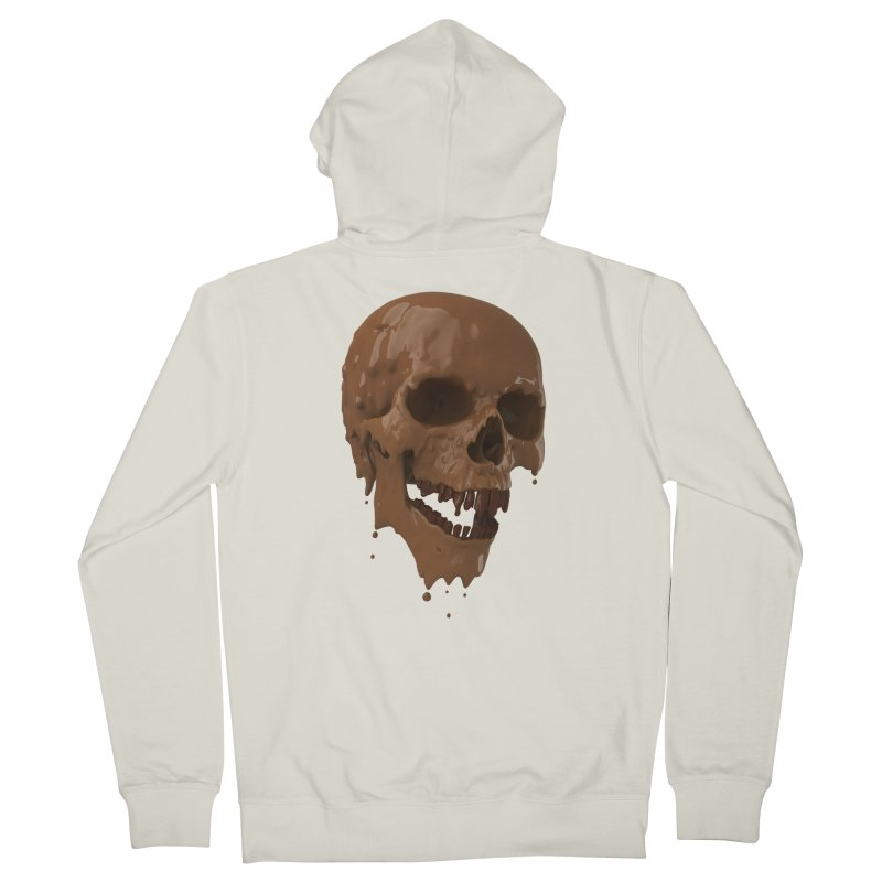 Bitter Teeth Men's Zip-Up Hoody by Ibrahim Dilek's Artist Shop