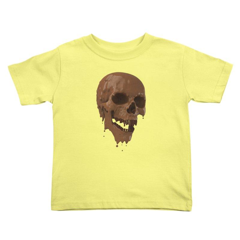 Bitter Teeth Kids Toddler T-Shirt by Ibrahim Dilek's Artist Shop