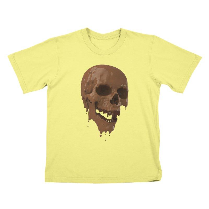Bitter Teeth Kids T-shirt by Ibrahim Dilek's Artist Shop