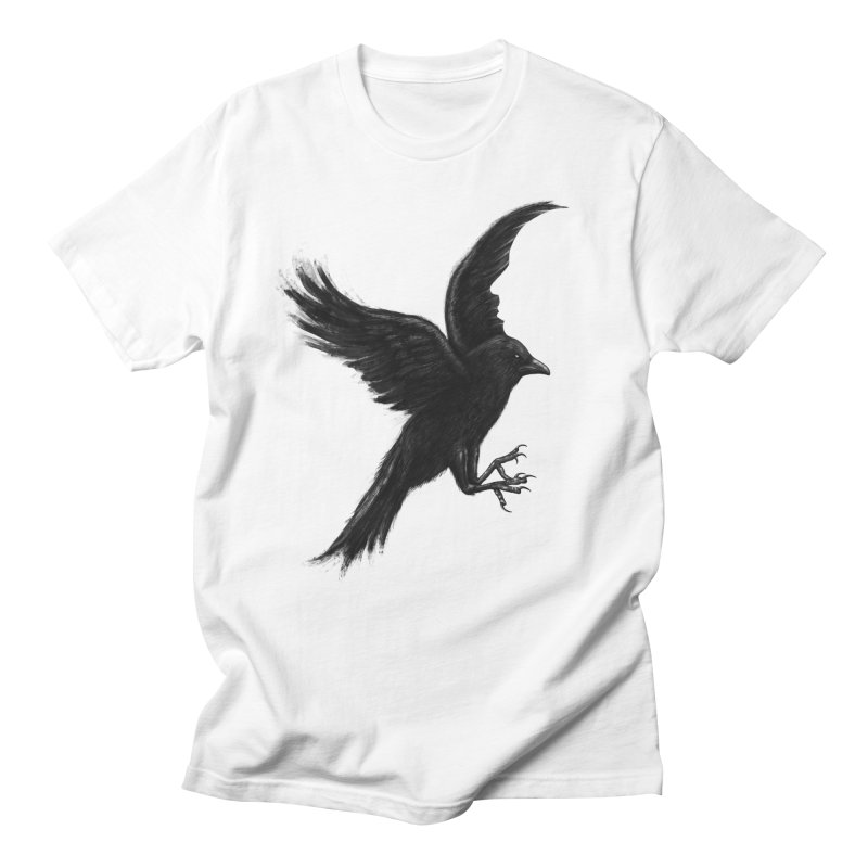 Crow & Alfred Men's T-Shirt by Ibrahim Dilek's Artist Shop