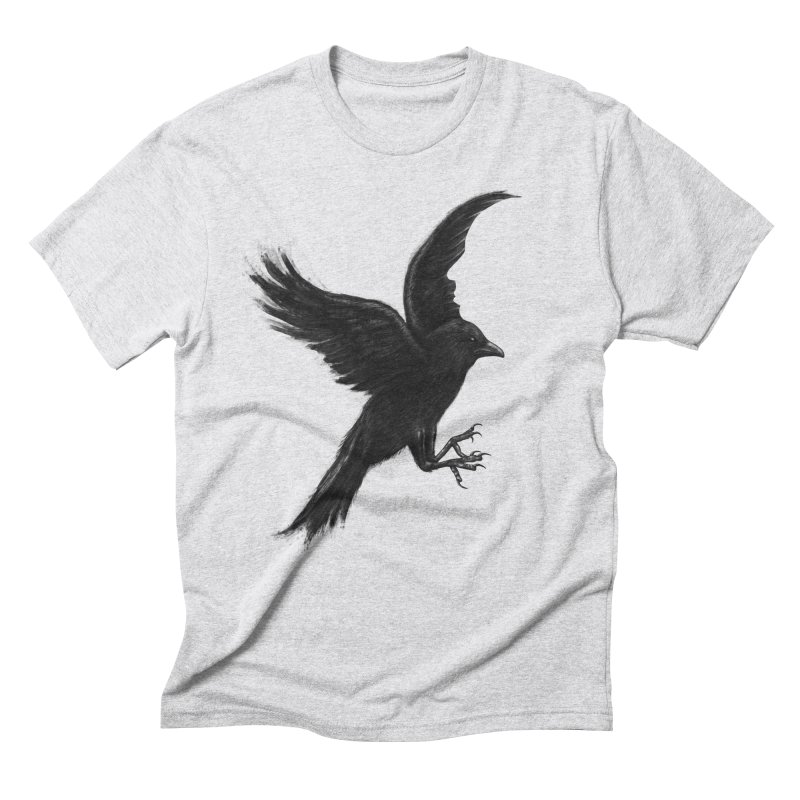 Crow & Alfred Men's Triblend T-Shirt by Ibrahim Dilek's Artist Shop
