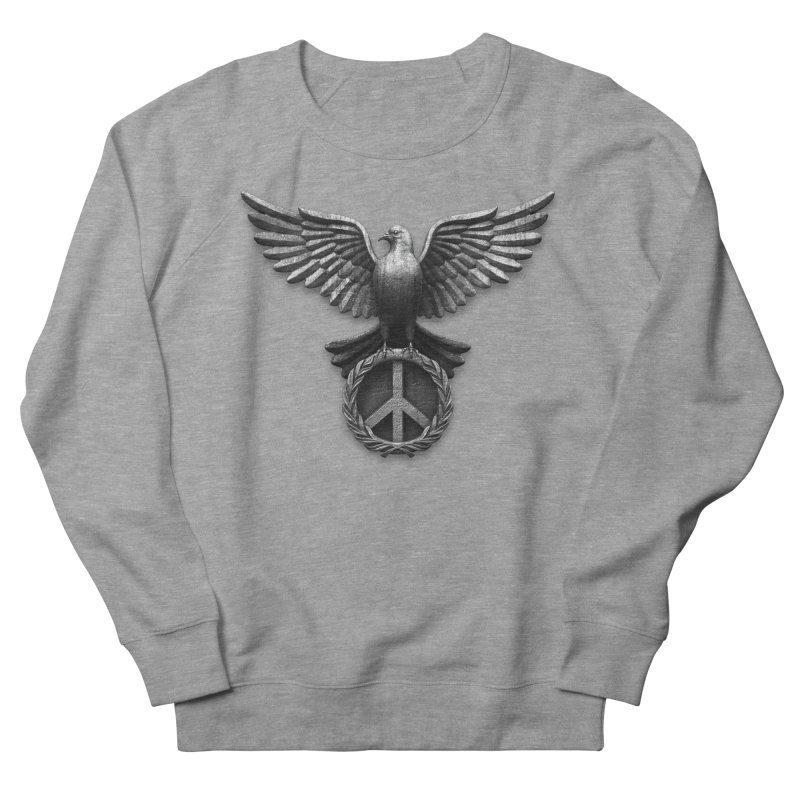 Peace Guardian Men's Sweatshirt by Ibrahim Dilek's Artist Shop