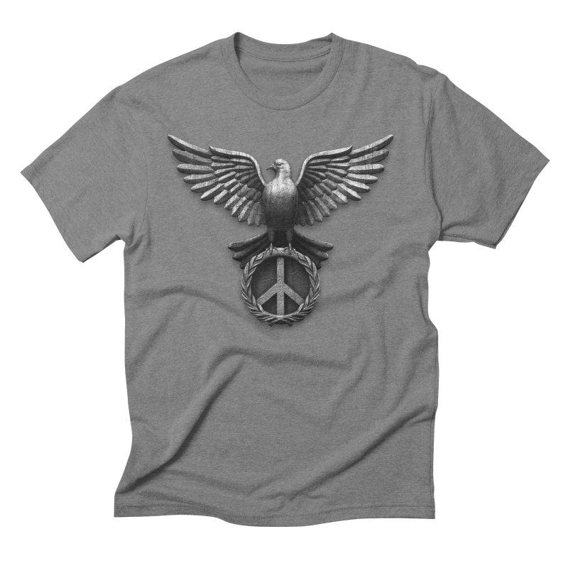 Peace Guardian Men's Triblend T-Shirt by Ibrahim Dilek's Artist Shop