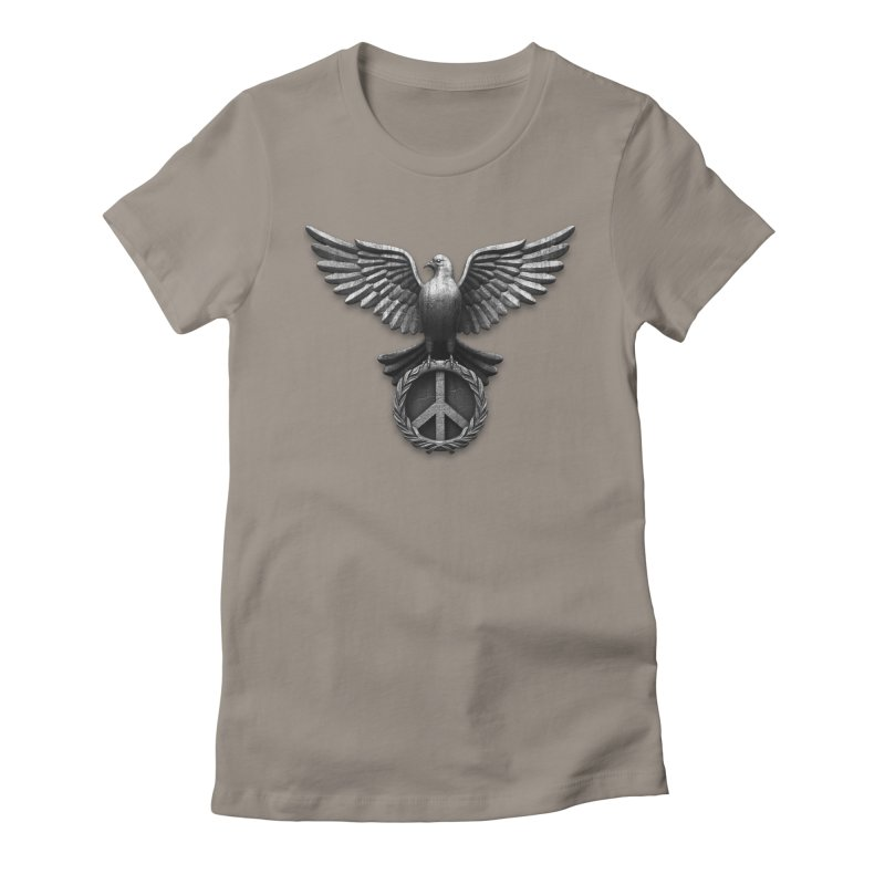 Peace Guardian Women's Fitted T-Shirt by Ibrahim Dilek's Artist Shop