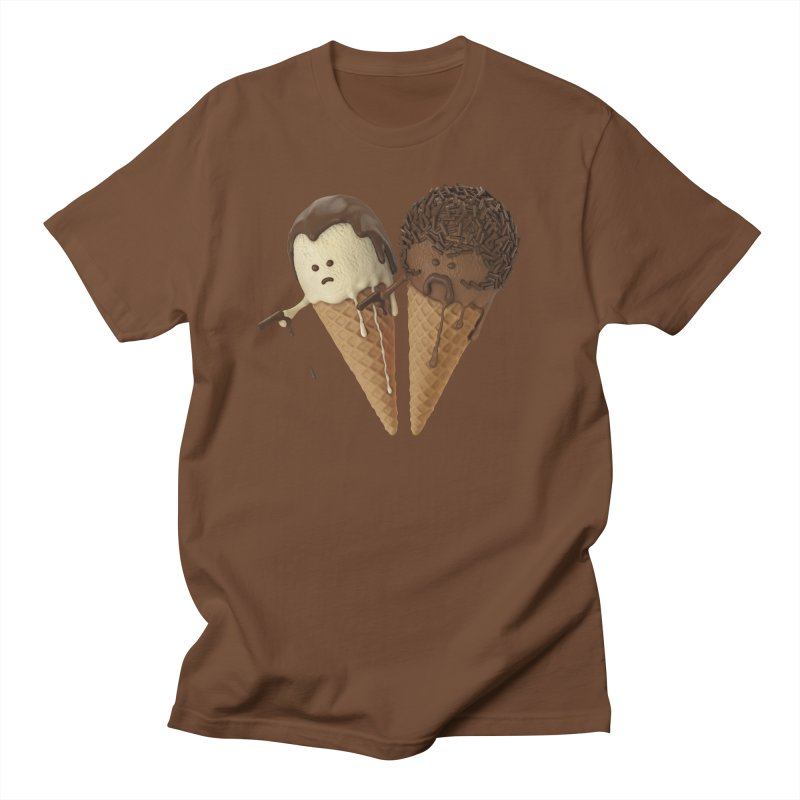 Le Ice Cream Men's T-Shirt by Ibrahim Dilek's Artist Shop