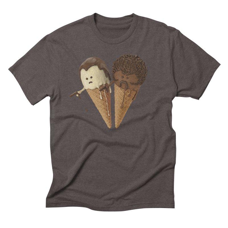 Le Ice Cream Men's Triblend T-Shirt by Ibrahim Dilek's Artist Shop
