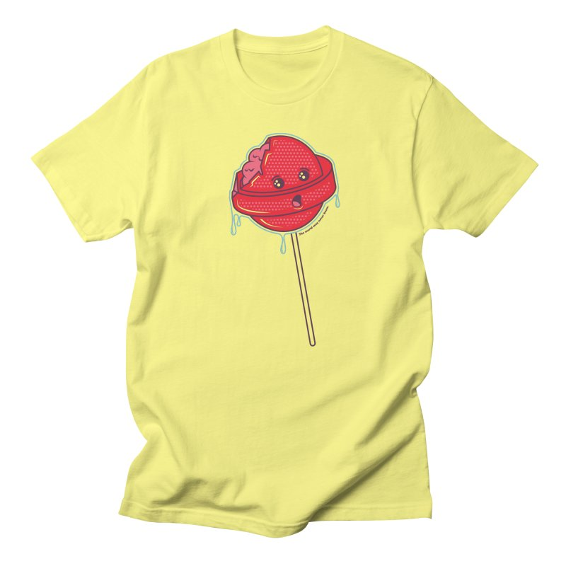 Brain Food Men's T-Shirt by Idle Delights Design Co. Apparel