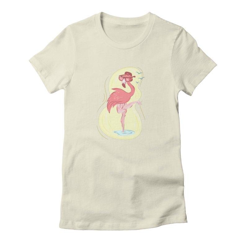 Beach Bird Women's T-Shirt by Idle Delights Design Co. Apparel