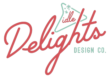 Idle Delights Design Co. Apparel Logo