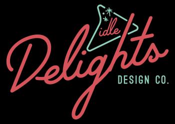 Idle Delights Design Co. Apparel Logo