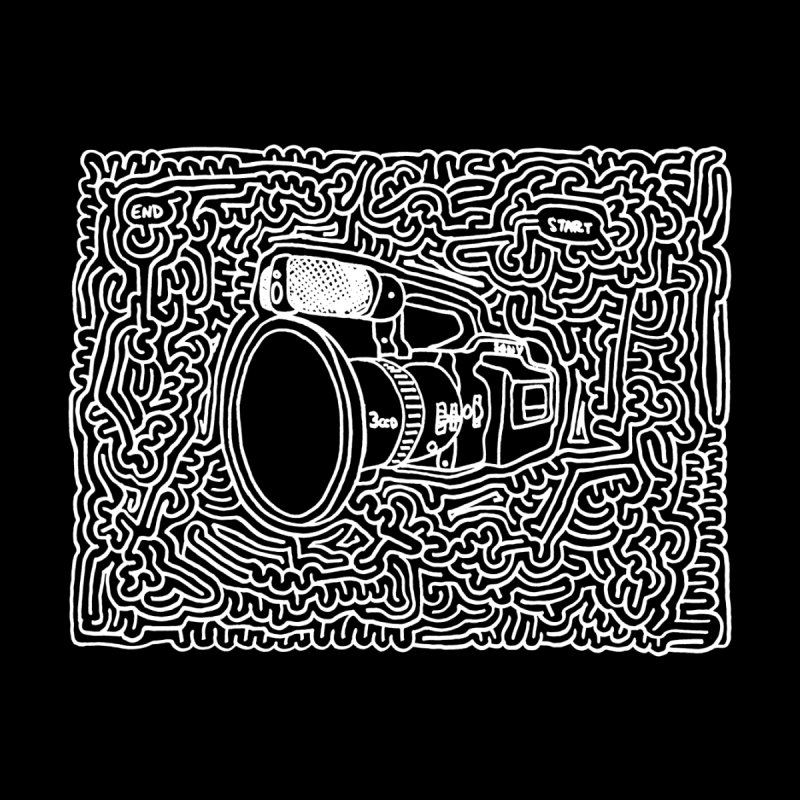 VX1000 maze (white) by idrawmazes's Artist Shop