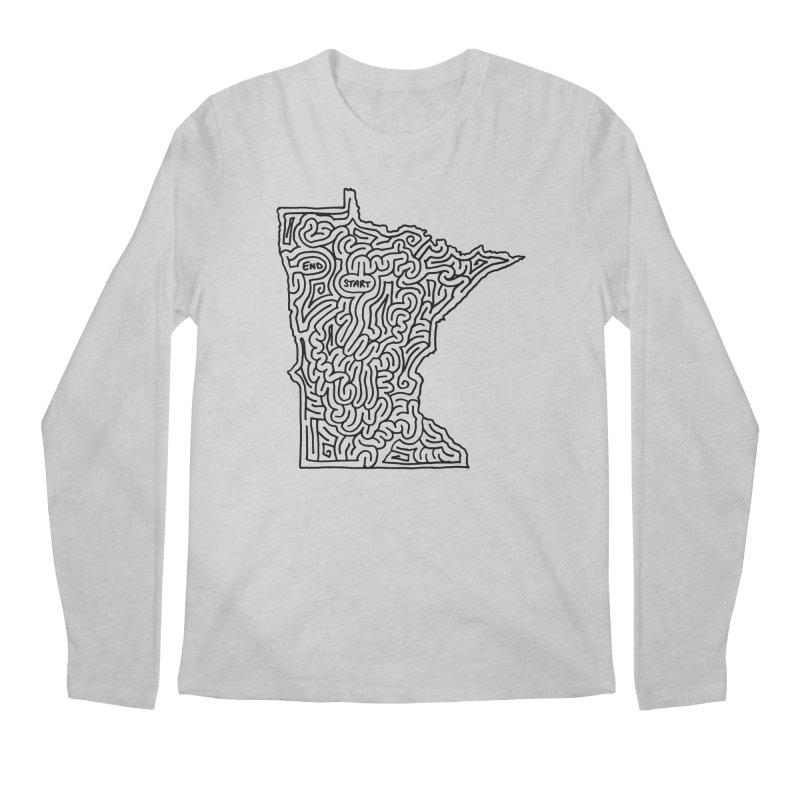 Minnesota maze (black)   by idrawmazes's Artist Shop