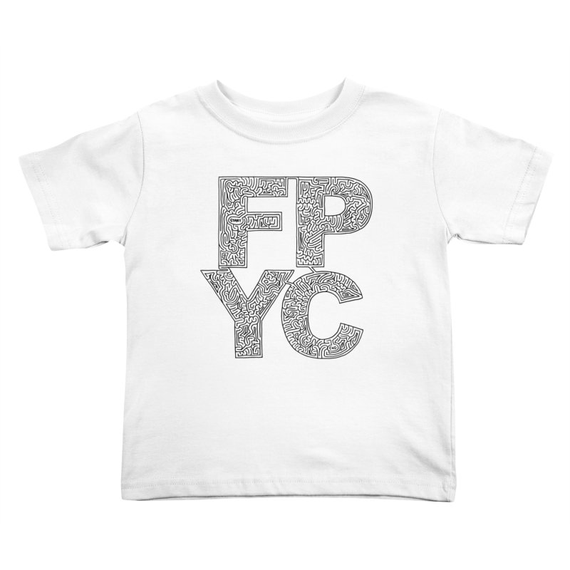 FPYC maze (black) Kids Toddler T-Shirt by idrawmazes's Artist Shop