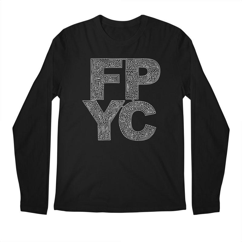 FPYC maze (white) Men's Longsleeve T-Shirt by idrawmazes's Artist Shop