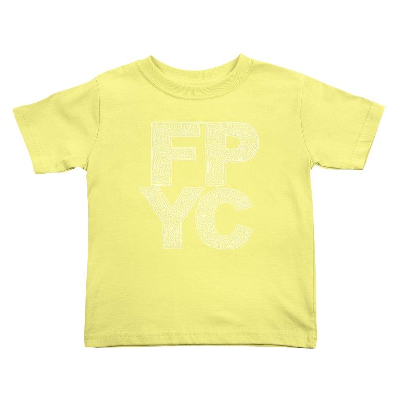 FPYC maze (white) Kids Toddler T-Shirt by idrawmazes's Artist Shop