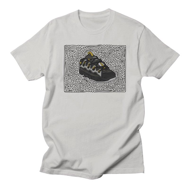 D3 maze (black w/ color) Men's T-Shirt by idrawmazes's Artist Shop