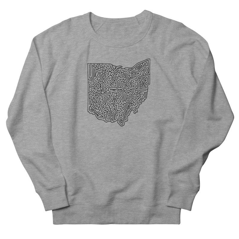 Ohio maze (black)   by idrawmazes's Artist Shop