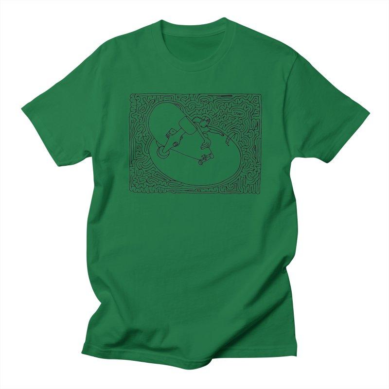 Stefan Ambrogio maze (black) Men's T-Shirt by idrawmazes's Artist Shop