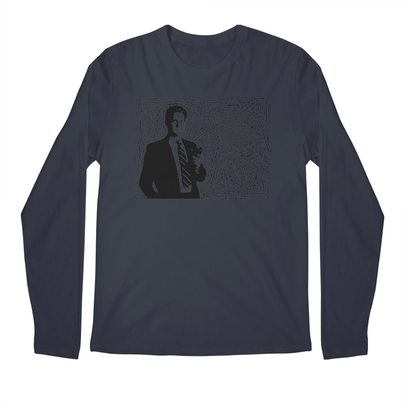 Cooper Men's Regular Longsleeve T-Shirt by I Draw Mazes's Artist Shop