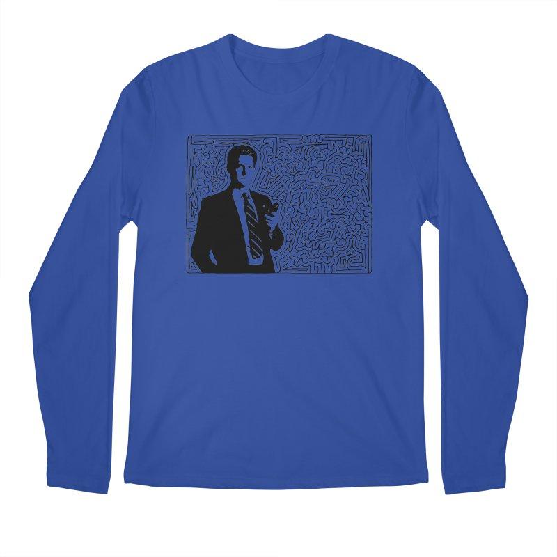 Cooper Men's Longsleeve T-Shirt by idrawmazes's Artist Shop