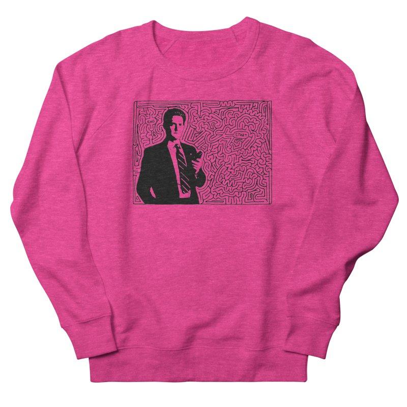 Cooper Women's French Terry Sweatshirt by I Draw Mazes's Artist Shop