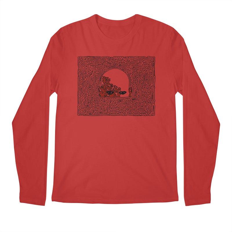 Zombie Men's Longsleeve T-Shirt by idrawmazes's Artist Shop