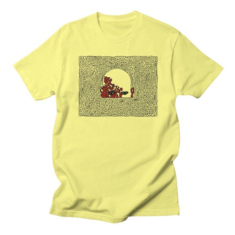 Zombie Men's Regular T-Shirt by I Draw Mazes's Artist Shop