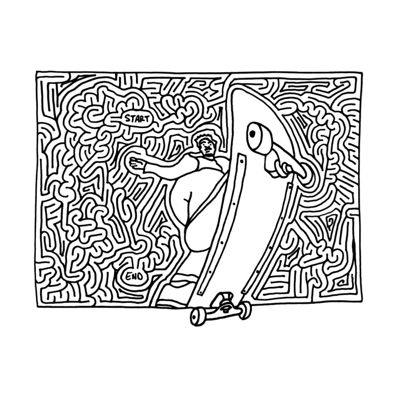 Front Blunt None  by idrawmazes's Artist Shop