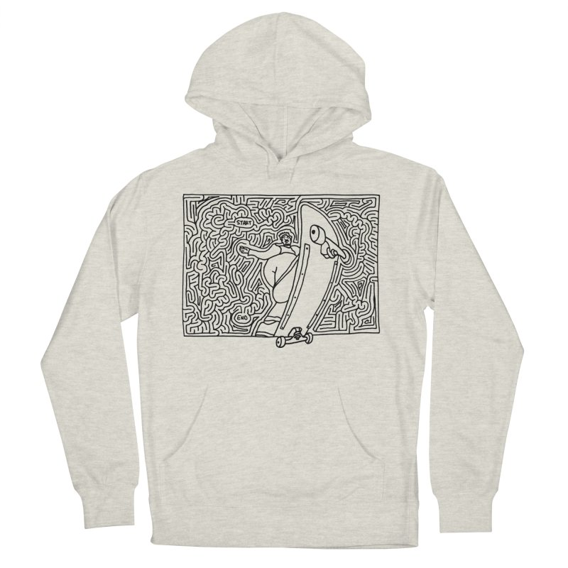 Front Blunt Men's French Terry Pullover Hoody by idrawmazes's Artist Shop