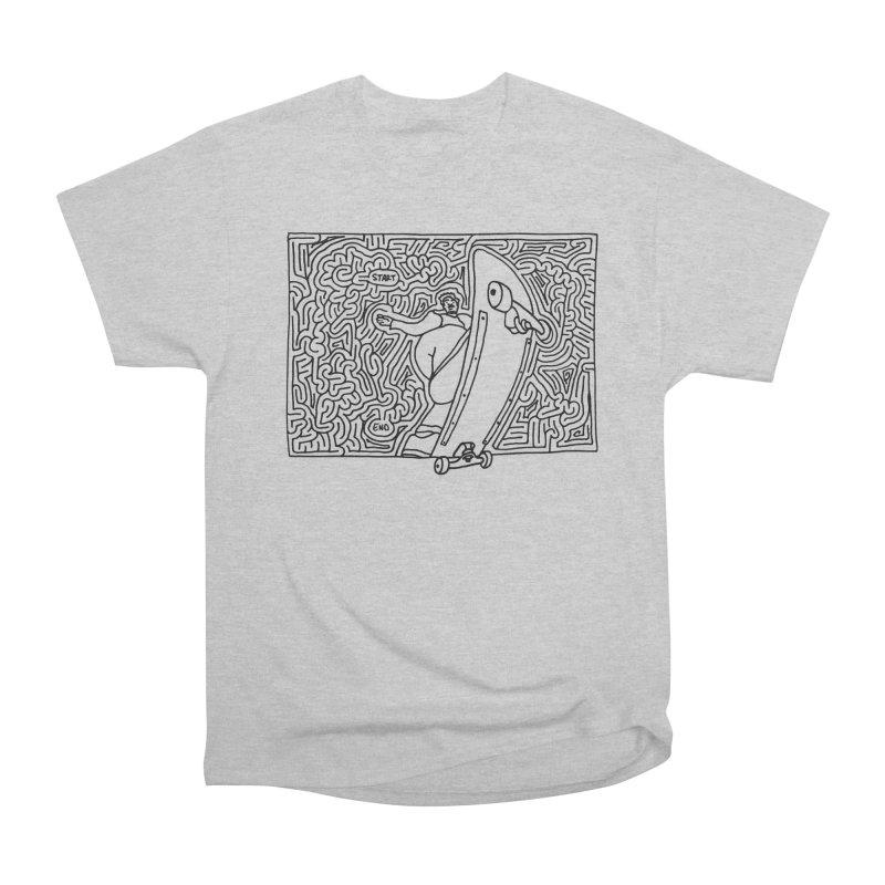 Front Blunt Women's Heavyweight Unisex T-Shirt by idrawmazes's Artist Shop