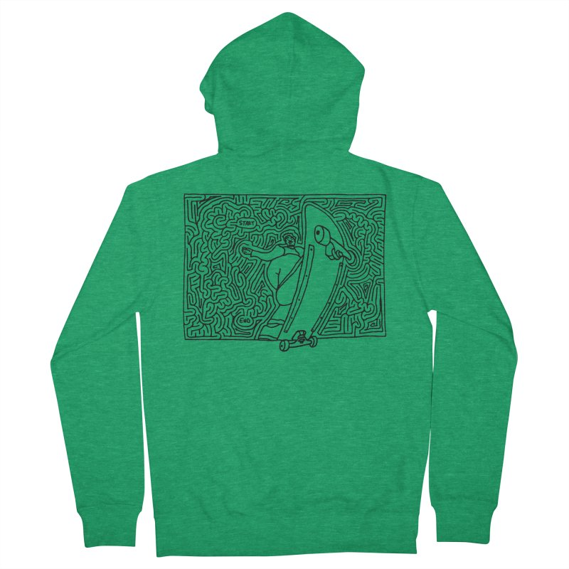 Front Blunt Women's Zip-Up Hoody by idrawmazes's Artist Shop