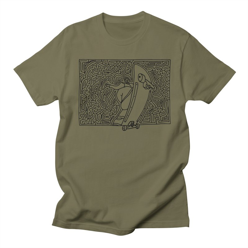 Front Blunt Men's Regular T-Shirt by I Draw Mazes's Artist Shop