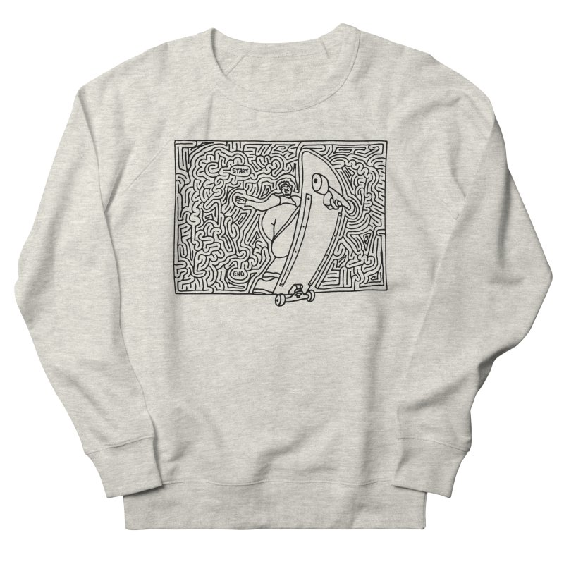 Front Blunt Men's Sweatshirt by idrawmazes's Artist Shop