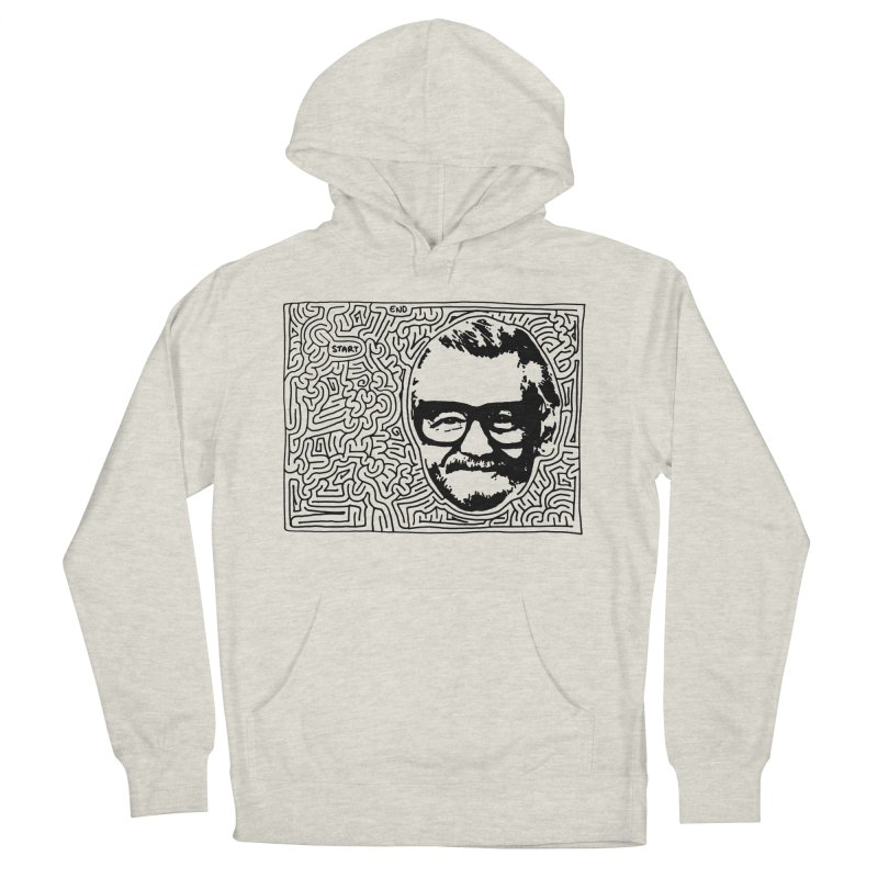 George Men's French Terry Pullover Hoody by idrawmazes's Artist Shop