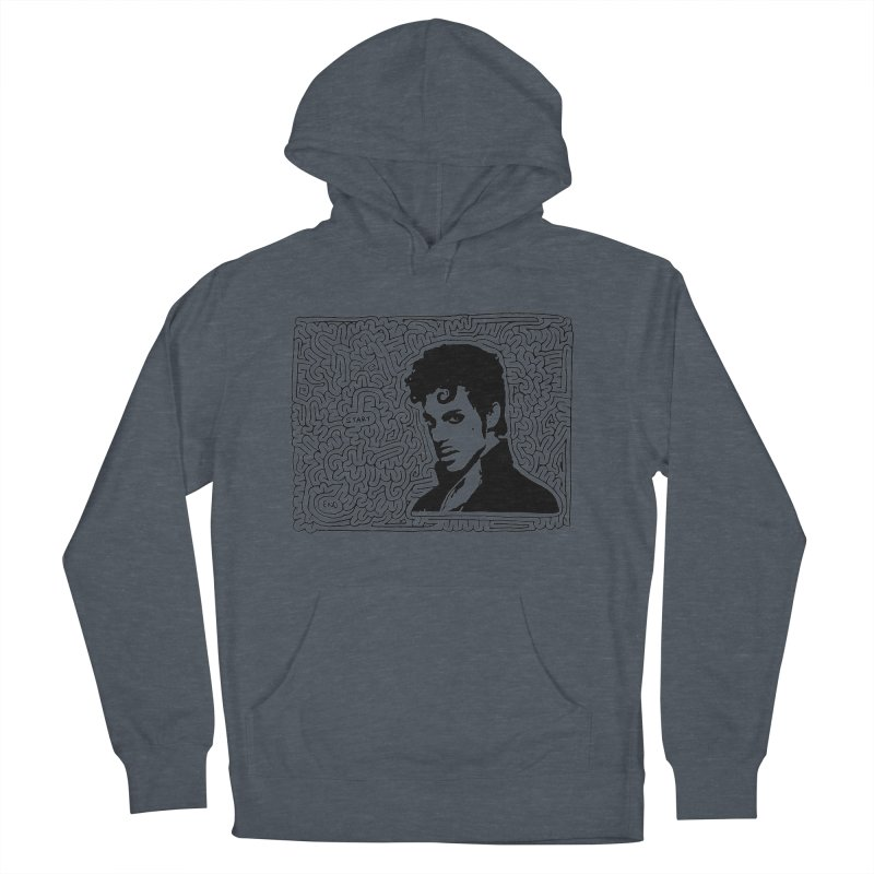 Prince Men's Pullover Hoody by idrawmazes's Artist Shop