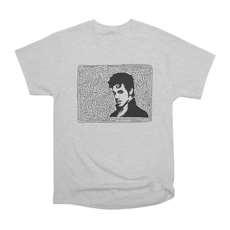 Prince Women's Heavyweight Unisex T-Shirt by I Draw Mazes's Artist Shop