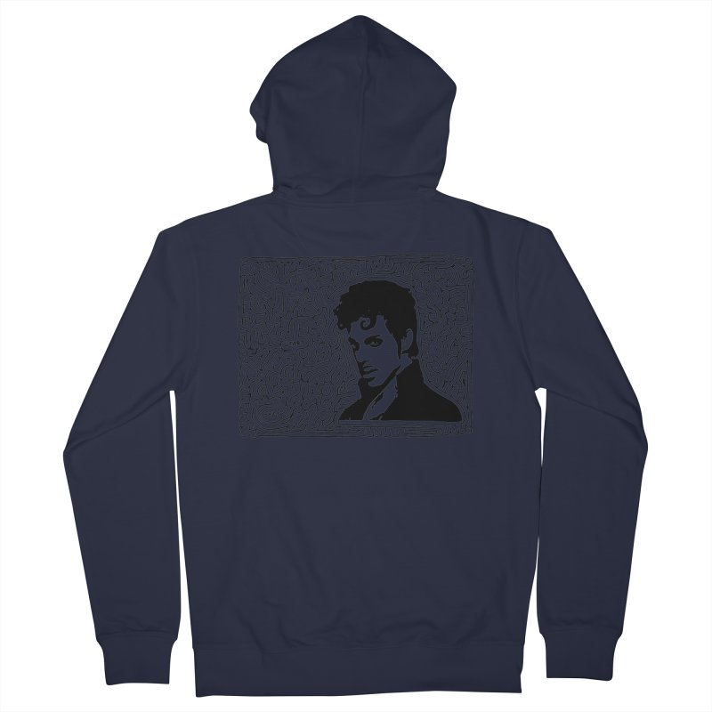 Prince Women's Zip-Up Hoody by idrawmazes's Artist Shop